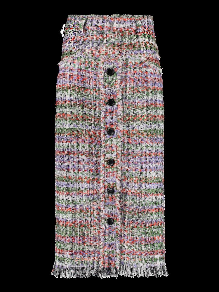SIS by Spijkers en Spijkers button-down skirt from tweed