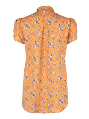 SIS by Spijkers en Spijkers blouse with short sleeves and print