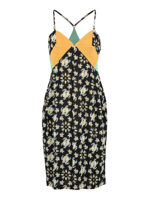 SIS by Spijkers en Spijkers summerdress with print and  spaghetti straps