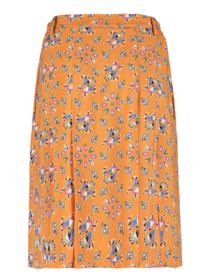 SIS by Spijkers en Spijkers  button-down skirt with print