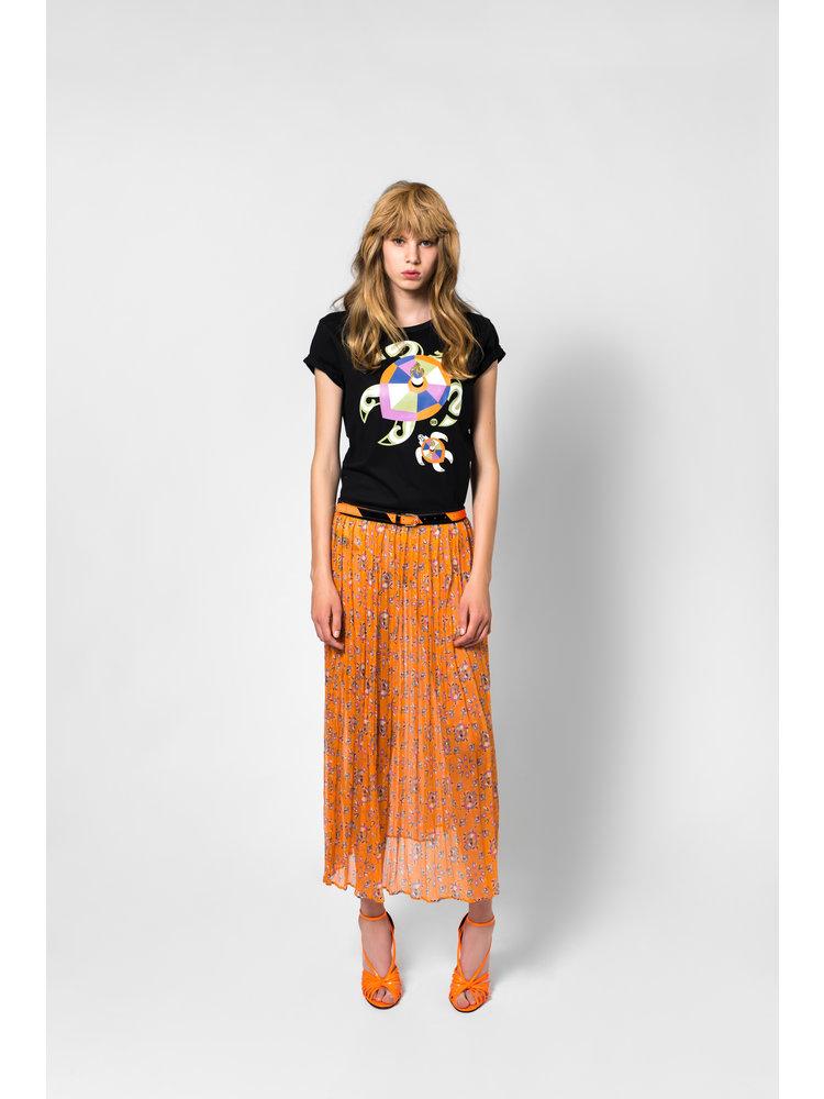 SIS by Spijkers en Spijkers long skirt of silk