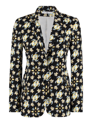 SIS by Spijkers en Spijkers fitted jacket with print