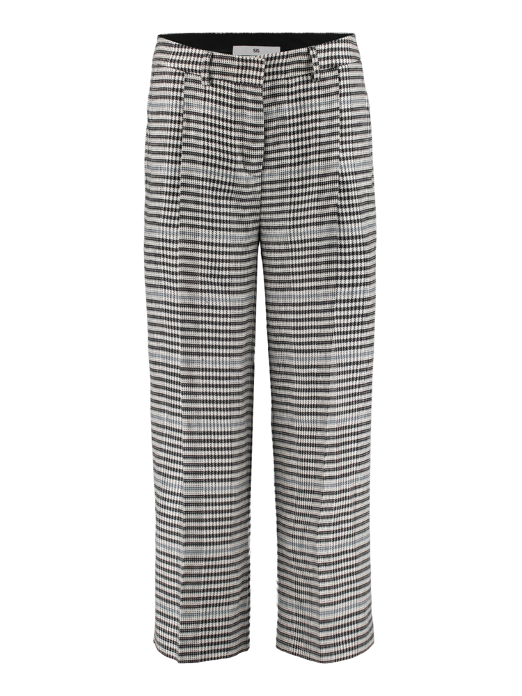 SIS by Spijkers en Spijkers checkered pleated trousers