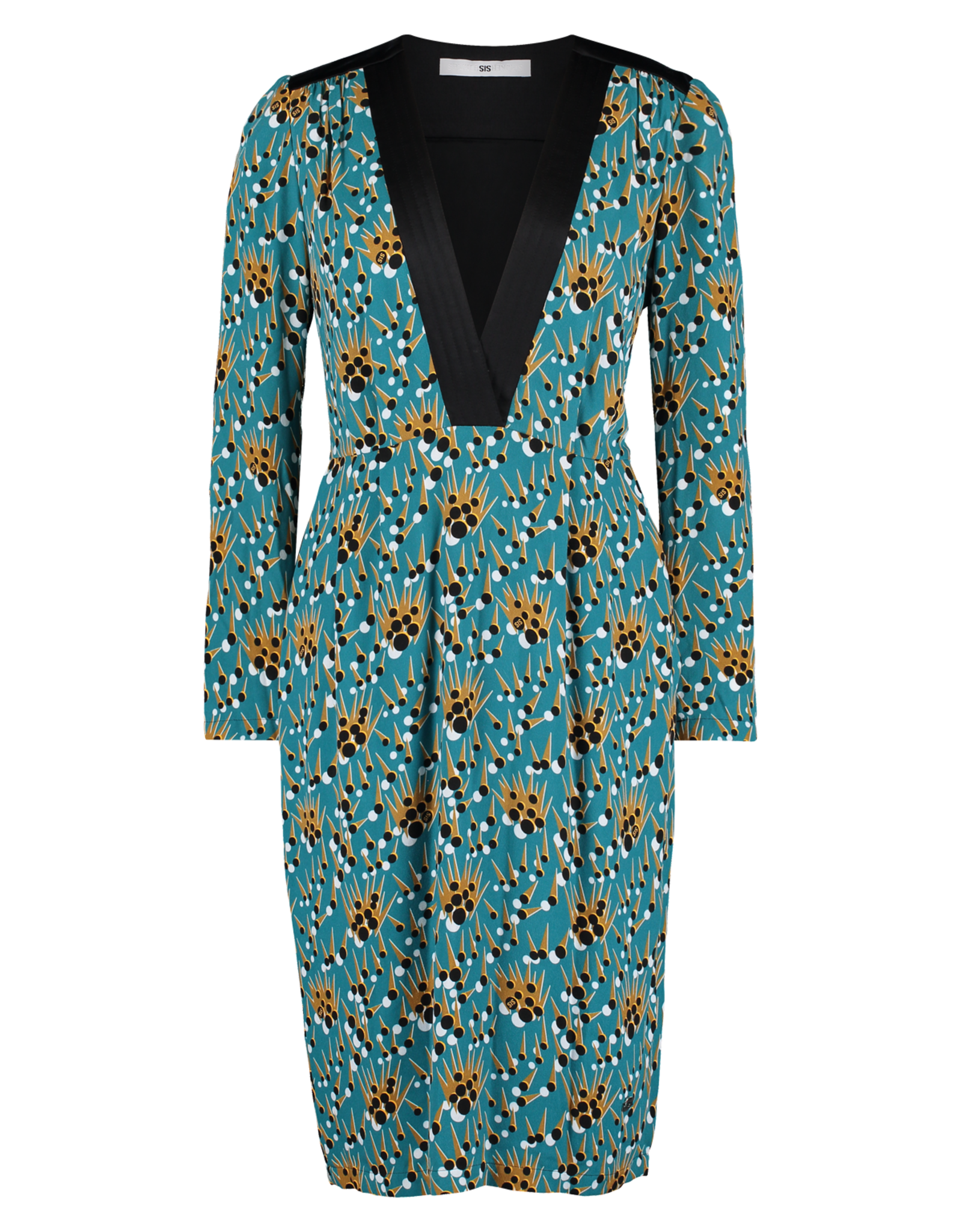 AW1920 544-N Padded Lewis Dress
