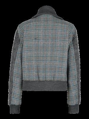 SIS by Spijkers en Spijkers checkered wool coat