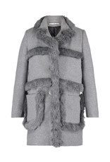 AW1920 412-W Fur Tape Coat