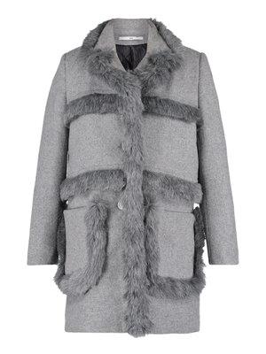 412-W Fur Tape Coat