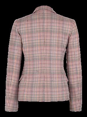SIS by Spijkers en Spijkers checkered wool blazer