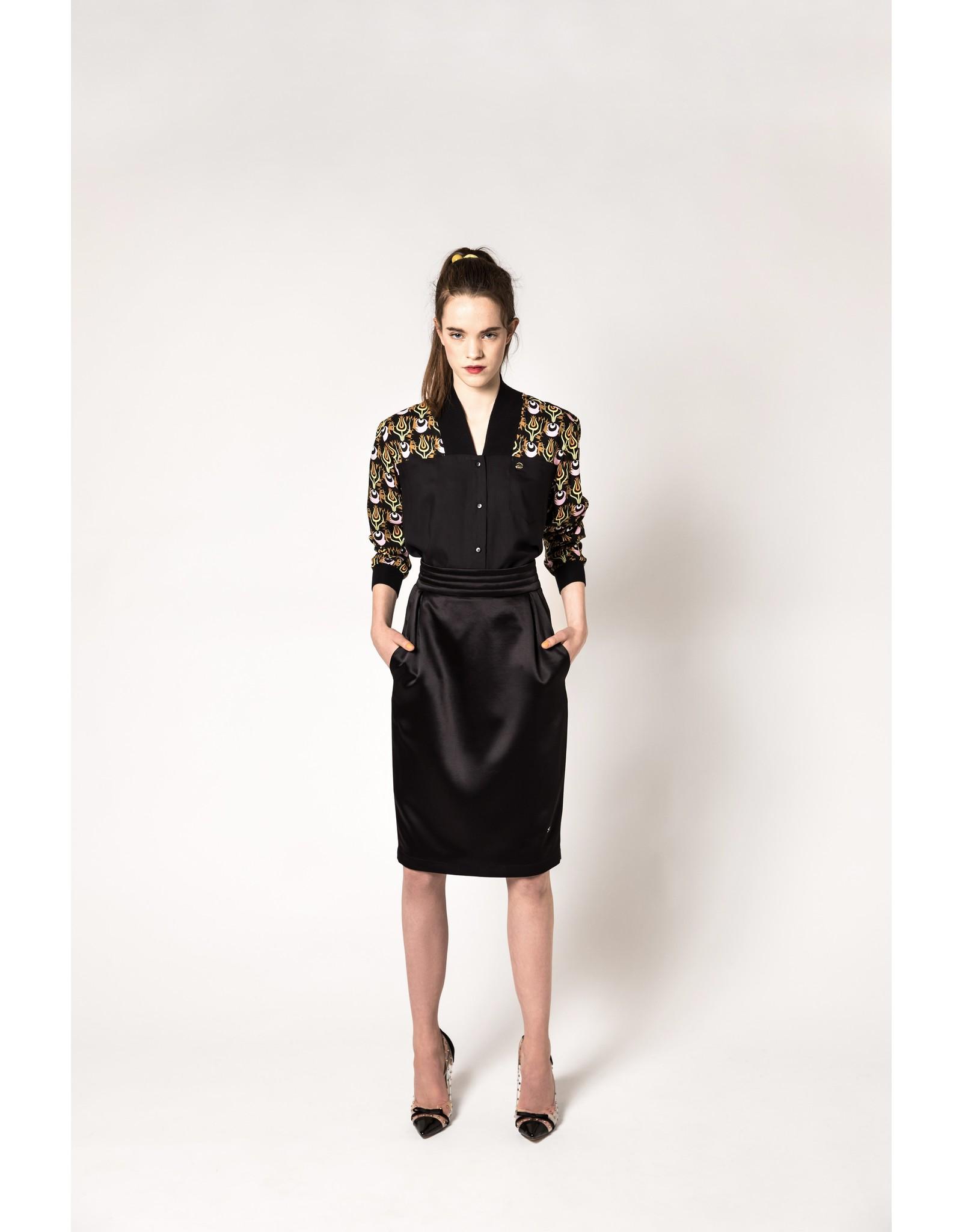 AW1920 323-AE Padded Waist Skirt
