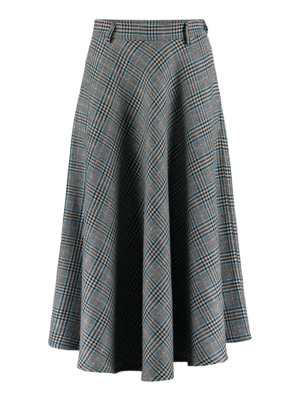 SIS by Spijkers en Spijkers checkered circle skirt