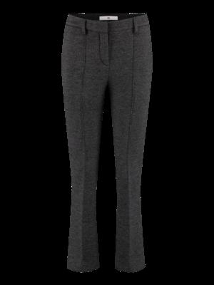 neoprene flared trousers