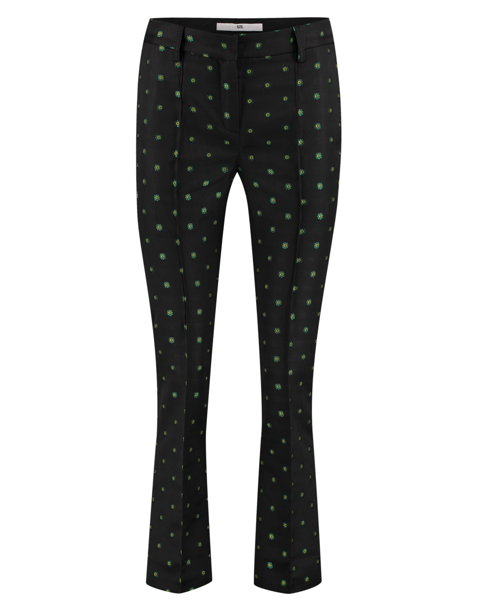 AW1920 203-L Pintuck Flair Pants
