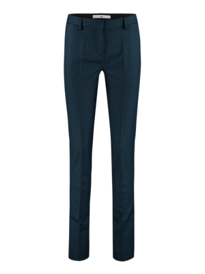 trousers with BB check