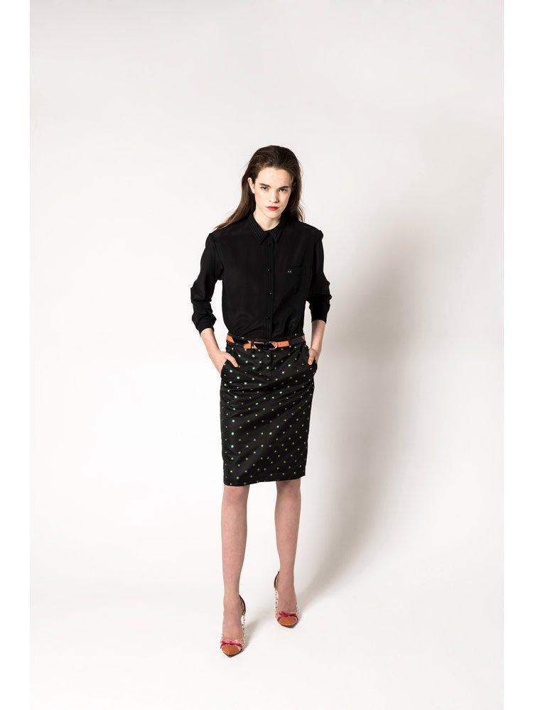 classic silk blouse