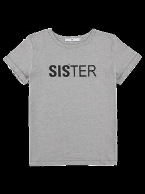 SIS by Spijkers en Spijkers black t-shirt with sister