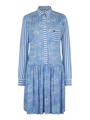 SIS by Spijkers en Spijkers blouse dress with print