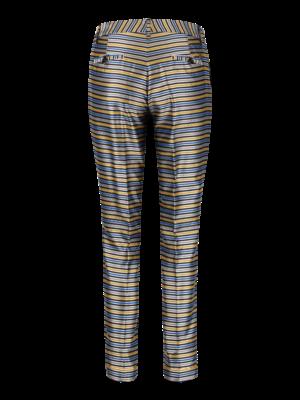 satin pants with straight leg