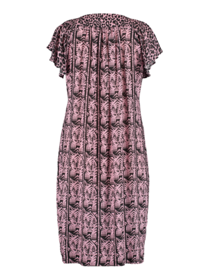 summer dress with butterfly sleeves
