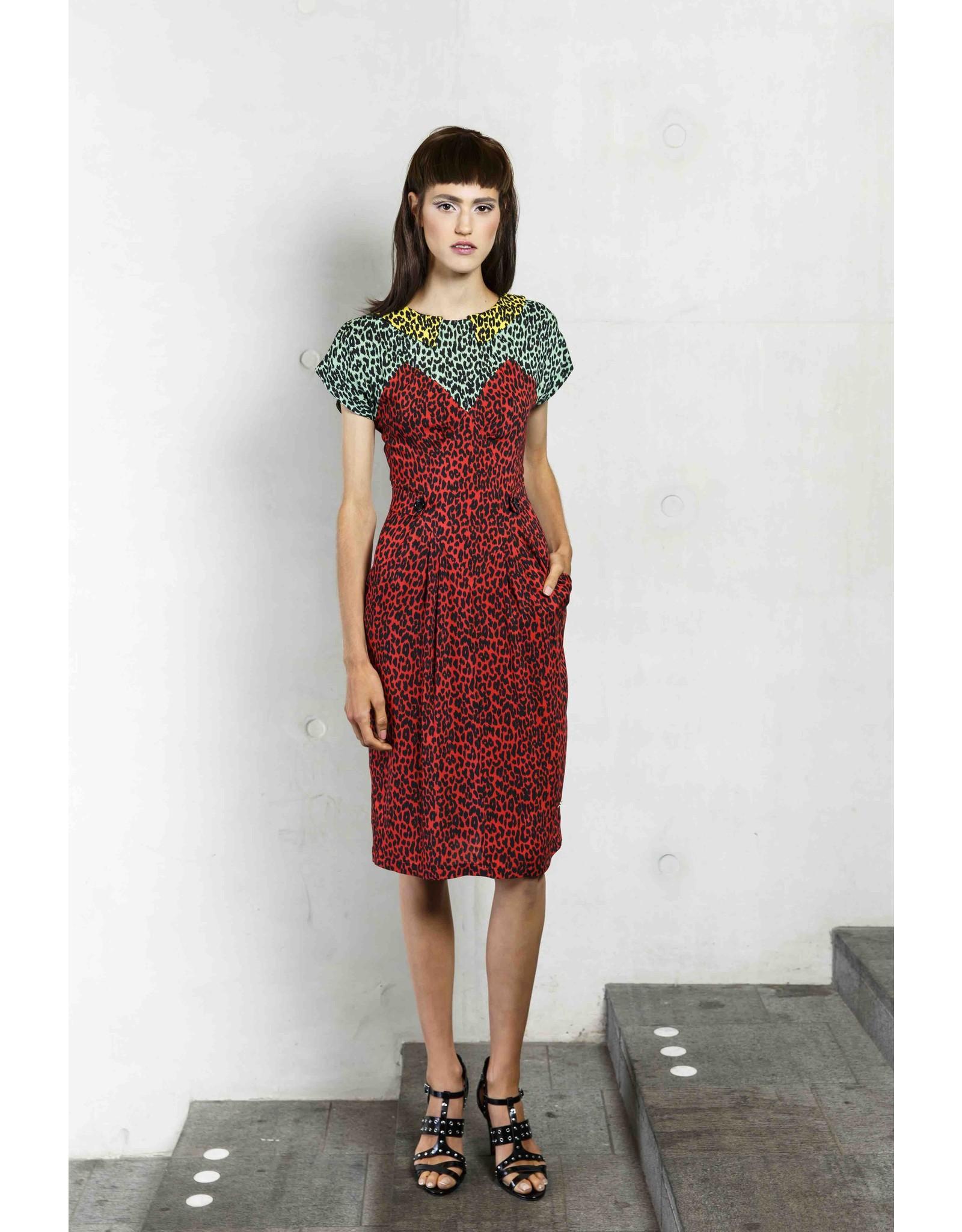 SS19 501-I Rombus Dress