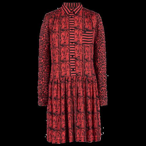 SIS by Spijkers en Spijkers wide dress with print