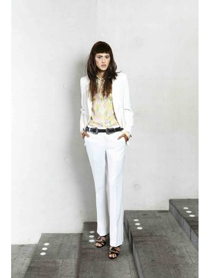 SIS by Spijkers en Spijkers white flair pants