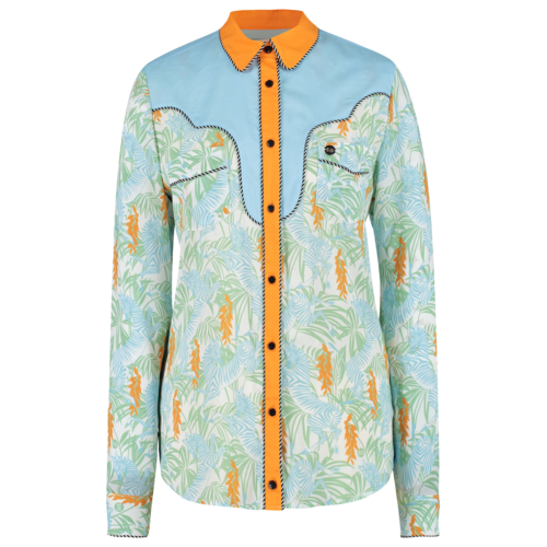 western style blouse
