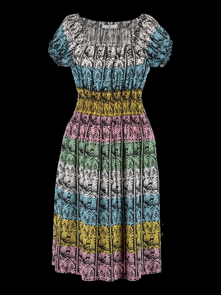 517-A Anna Stripe Dress