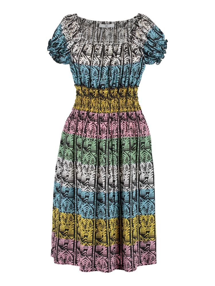 summer dress with smocking