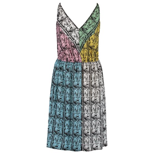 summer dress with print