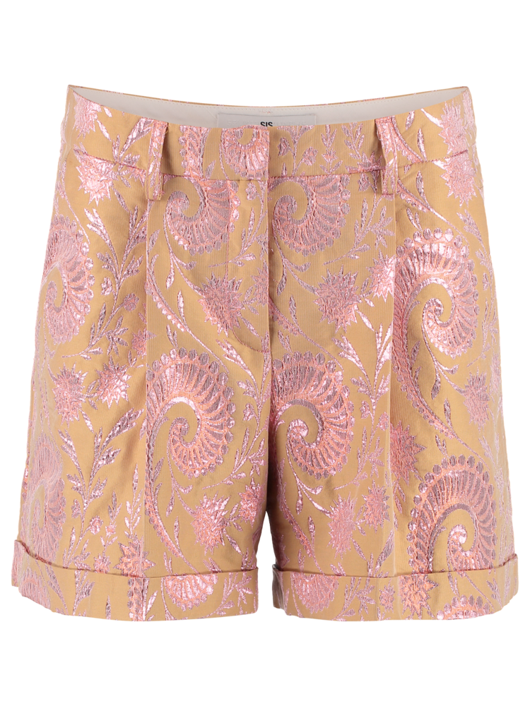 204-AH Pleat Shorts