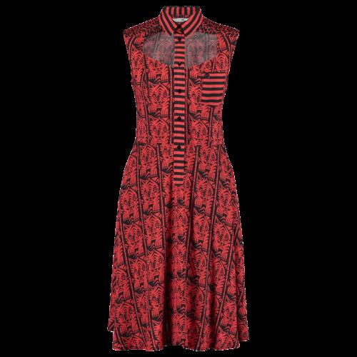 SS19 526-D Open Front Dress