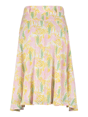 button-down skirt with pocket detail