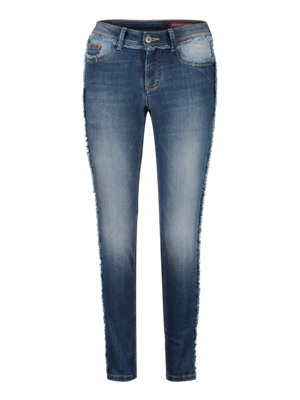 SIS by Spijkers en Spijkers denim jeans with fringes