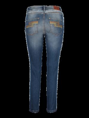 SIS by Spijkers en Spijkers denim jeans with fringes