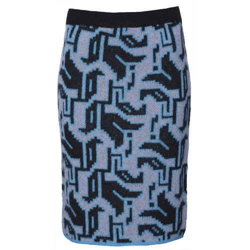 AW2021 721 B tulip knit skirt