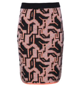 AW2021 721 O tulip knit skirt