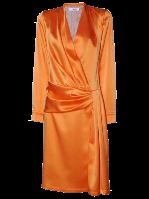 AW2021 562-BE Drape Dress