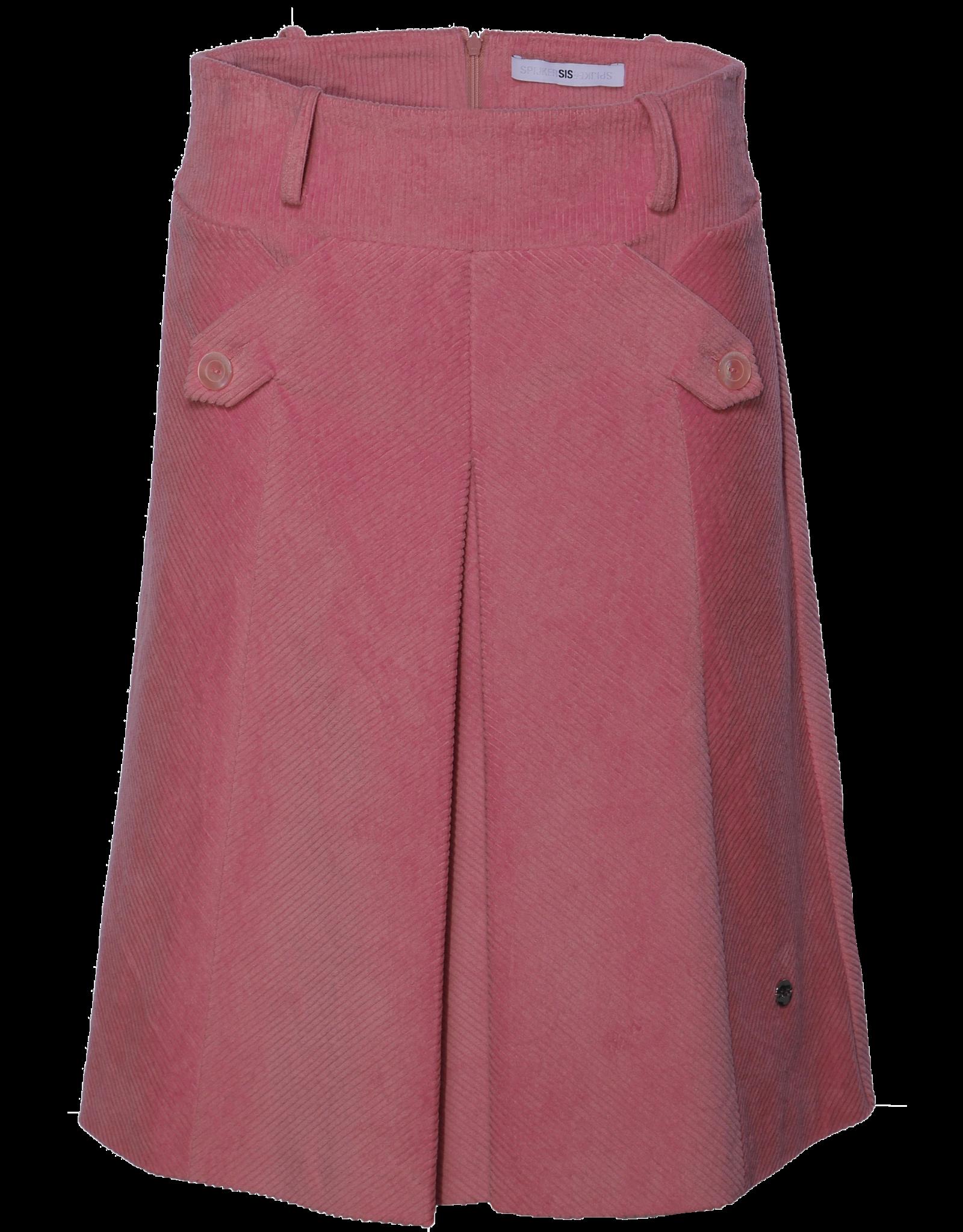 AW2021 327-Y Diagonal Ribcord Skirt