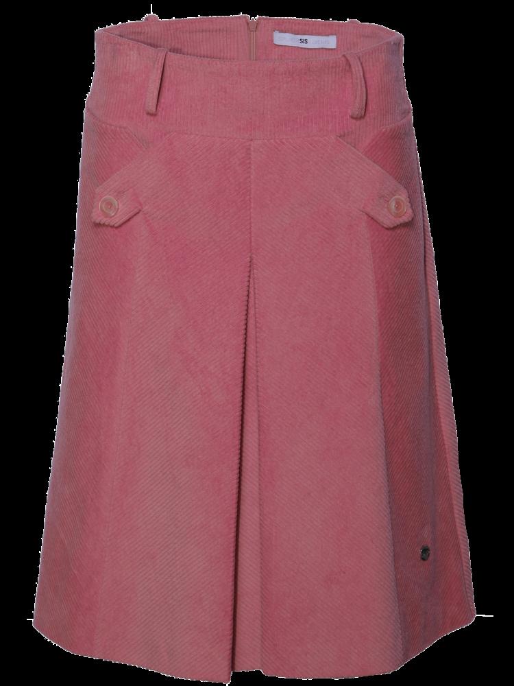 327-Y Diagonal Ribcord Skirt
