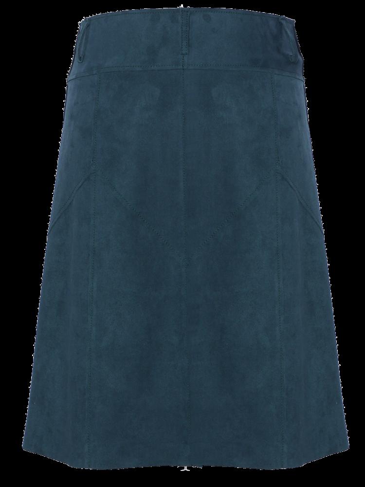 310-AN Suede Skirt