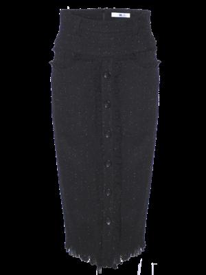 long tweed skirt