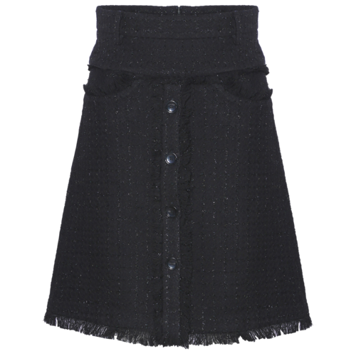 AW2021 304-AE Short Tweed Skirt