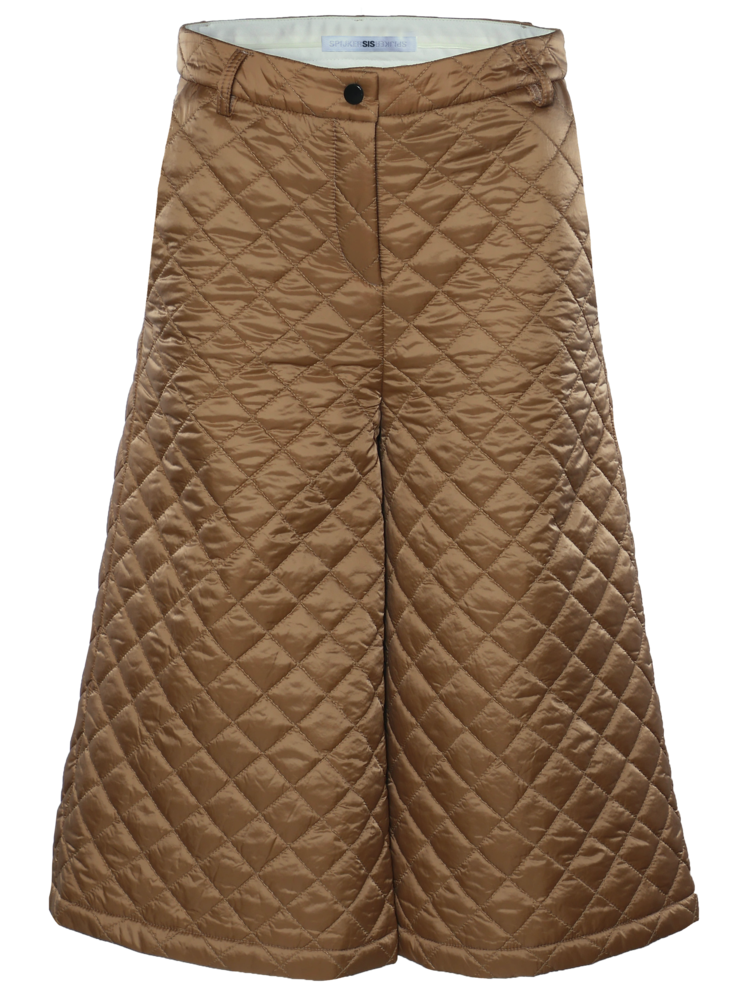 229-Z Quilted Culotte Pants