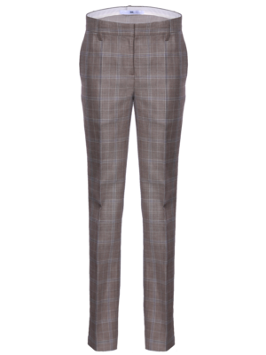 SIS by Spijkers en Spijkers long flair pants with a classic check