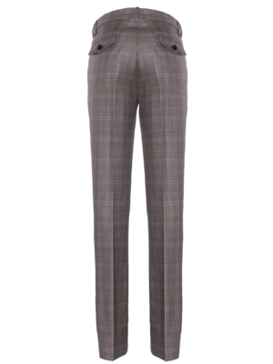 SIS by Spijkers en Spijkers flong flair pants with a classic check