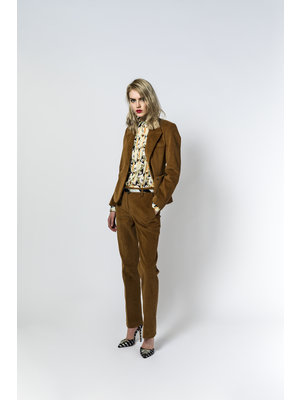 SIS by Spijkers en Spijkers long flair trousers in corduroy