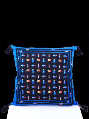 SIS by Spijkers en Spijkers Printed beetles pillow
