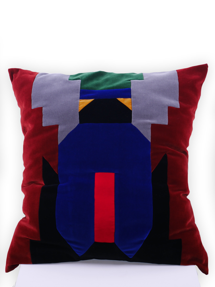SIS by Spijkers en Spijkers large velvet pillow