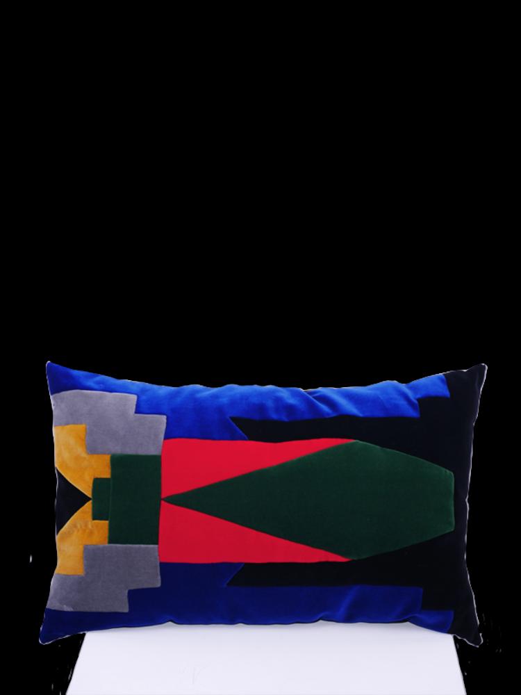 SIS by Spijkers en Spijkers velvet grasshopper pillow
