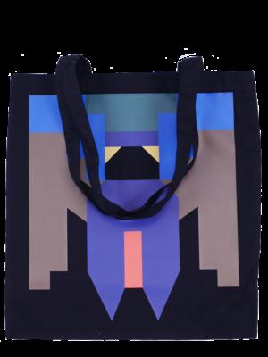 Printed lady-bug bag